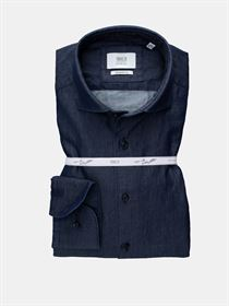Eterna Super Soft denimskjorte premium by1863 ren bomuld. Slim Fit 3347 18 FS82
