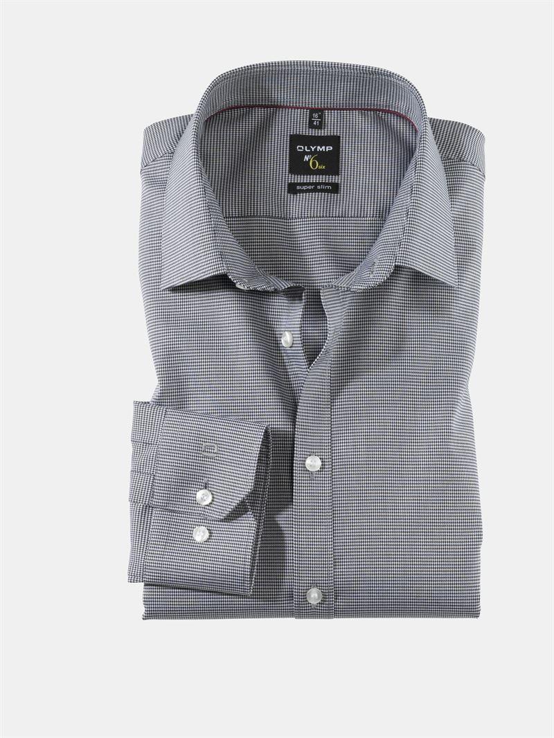 olymp sort skjorte super slim ol0465 64 68n. Black Bedroom Furniture Sets. Home Design Ideas