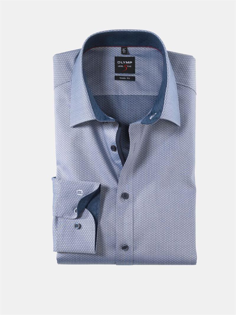90d262bf Olymp mørkeblå skjorte. Body Fit 0557 64 18